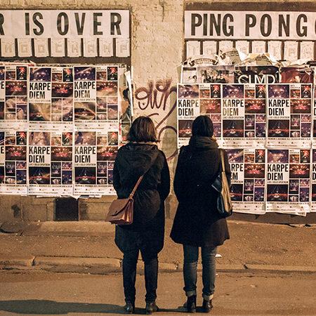 WAR IS OVER PINGPONGO
