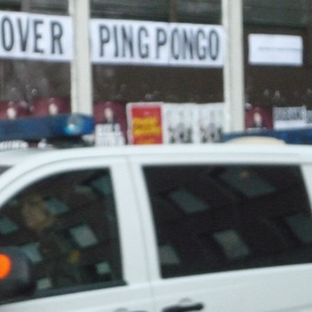 WAR IS OVER PINGPONGO