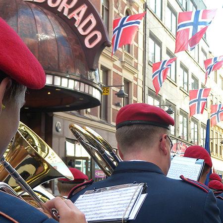 Utforsking av Norges flagg