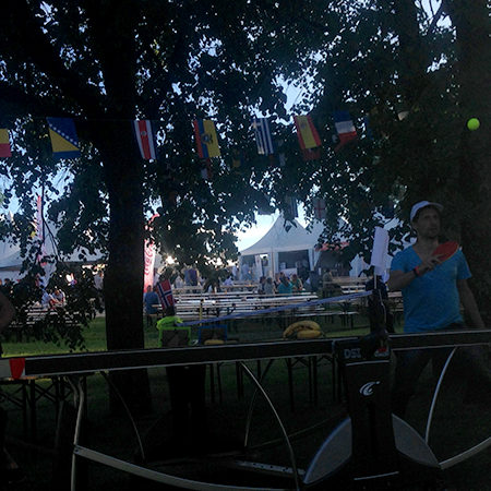 PINGPONGO AT FOTBALLFESTEN