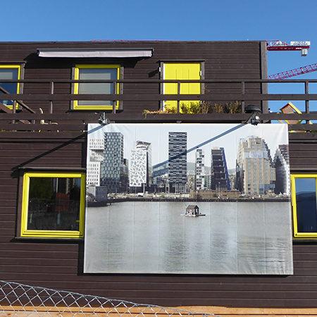 "Exhibition: ""hic habitat felicitas"" by Pfelder"