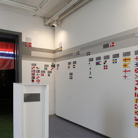 Utforsking av Norges Flagg #1
